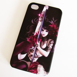 Hard case Iphone 4 paaldanseres - D11151