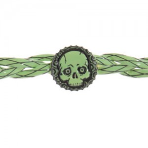 Glow in the dark piratenarmband - S10971c