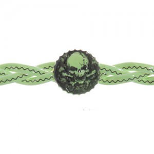 Glow in the dark piratenarmband - S10971d
